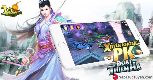 Giới thiệu và tải game Võ Lâm cho điện thoại cài Android + Hình 2