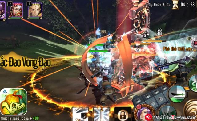 Giới thiệu và tải game Võ Lâm cho điện thoại cài Android + Hình 4
