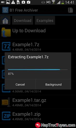 Giới thiệu TOP 5 ứng dụng giải nén File miễn phí trên Android + Hình 4
