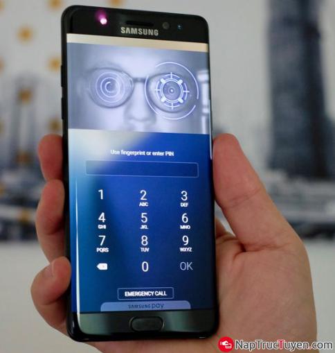 Điện thoại Samsung Galaxy J7 Prime - Cách cài đặt mở khóa bằng vân tay + Hình 10