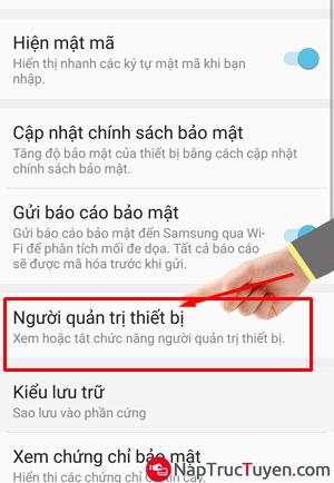 Sửa lỗi điện thoại Samsung Galaxy J7 Prime không nhận được vân tay + Hình 10