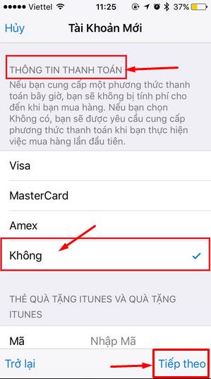 Tạo tài khoản iCloud - Apple ID Free nhanh gọn mà không cần thẻ VISA, MASTERCARD + Hình 5