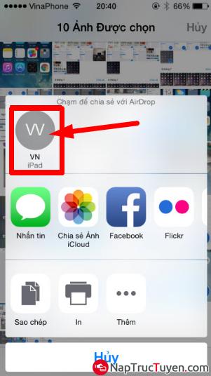 Cách chuyển đổi File dữ liệu thông qua Bluetooth trên điện thoại iOS + Hình 4