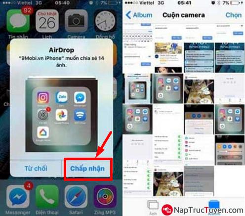 Cách chuyển đổi File dữ liệu thông qua Bluetooth trên điện thoại iOS + Hình 5