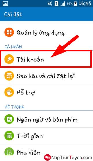 Sửa lỗi Acc SamSung hết hạn đăng nhập trên điện thoại, máy tính bảng Android + Hình 3
