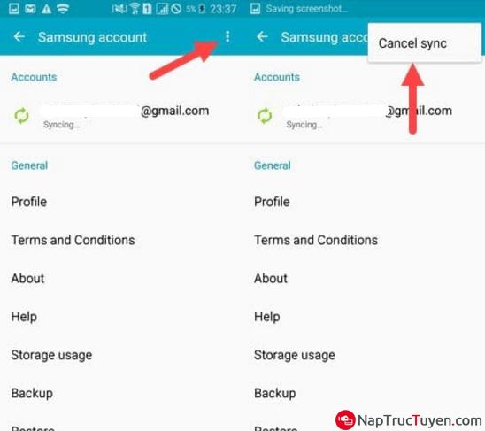 Sửa lỗi Acc SamSung hết hạn đăng nhập trên điện thoại, máy tính bảng Android + Hình 5