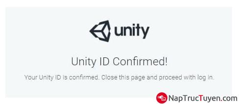 Hướng dẫn đăng ký tạo tài khoản Unity ID để thiết kế trò chơi, game + Hình 6