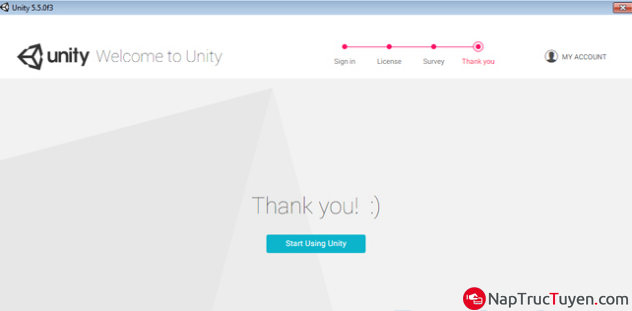 Hướng dẫn đăng ký tạo tài khoản Unity ID để thiết kế trò chơi, game + Hình 11