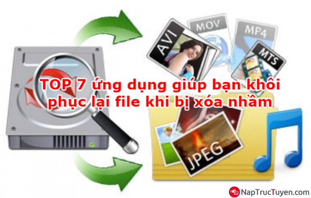 Các ứng dụng giúp bạn khôi phục lại file khi bị xóa nhầm + Hình 1