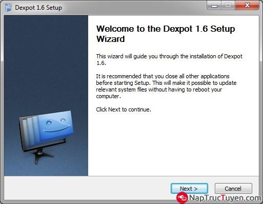 Tạo màn hình Destop ảo bằng phần mềm Dexpot cho Windows + Hình 3