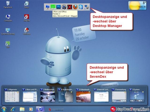 Tạo màn hình Destop ảo bằng phần mềm Dexpot cho Windows + Hình 6