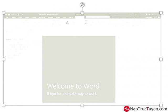 Hướng dẫn chèn logo hình ảnh vào văn bản, tài liệu Word + Hình 5