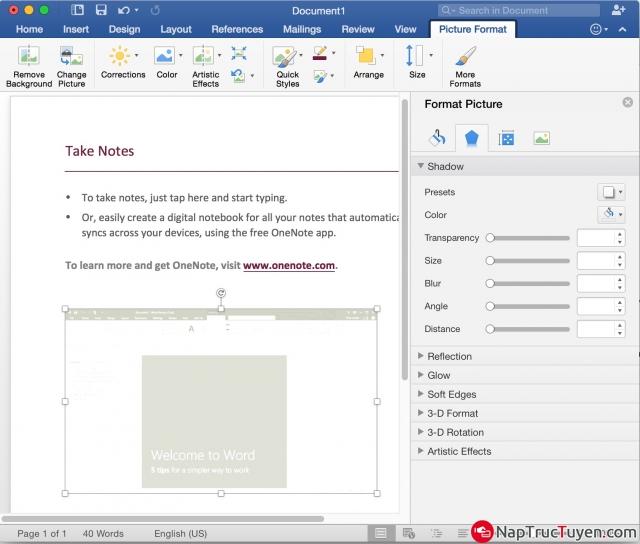 Hướng dẫn chèn logo hình ảnh vào văn bản, tài liệu Word + Hình 9