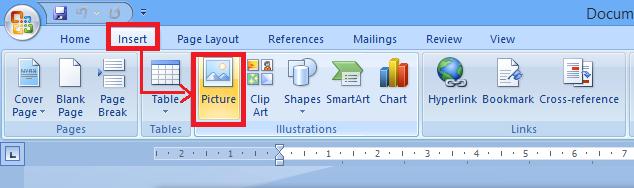 Hướng dẫn chèn logo hình ảnh vào văn bản, tài liệu Word + Hình 4