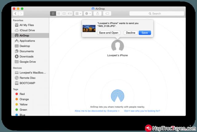 Hướng dẫn mọi người share tệp tin từ iOS sang Macbook + Hình 10