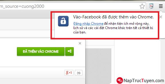 Cách vào Facebook mượt hơn, nhanh hơn bằng trình duyệt Chrome + Hình 4
