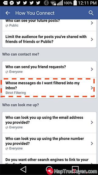 Hướng dẫn chặn tin spam, tin rác, tin quảng cáo trên Facebook Messager + Hình 8