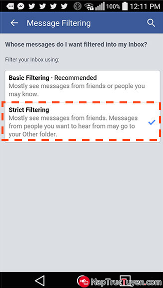 Hướng dẫn chặn tin spam, tin rác, tin quảng cáo trên Facebook Messager + Hình 9