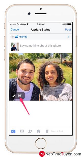 Hướng dẫn vẽ văn bản lên hình ảnh trước khi tải hình lên Facebook + Hình 2