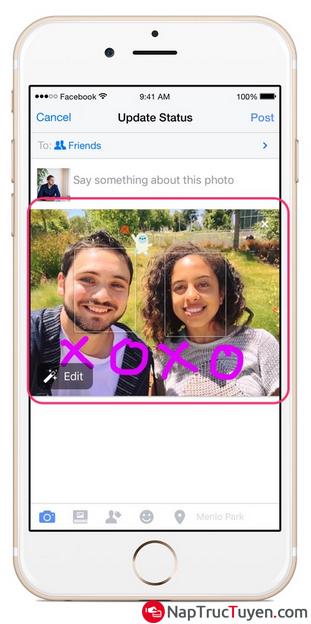 Hướng dẫn vẽ văn bản lên hình ảnh trước khi tải hình lên Facebook + Hình 4