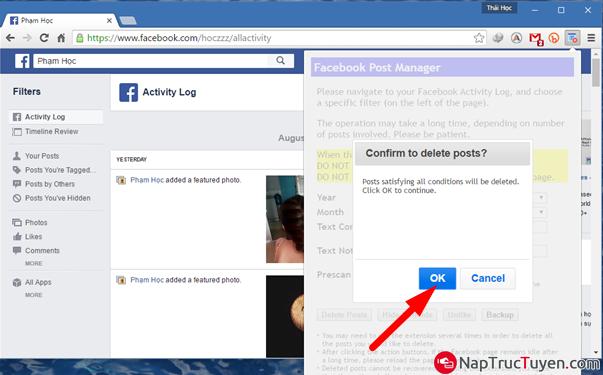 Tuyệt chiêu dọn sạch tường Facebook nhà bạn một cách nhanh chóng nhất + Hình 6