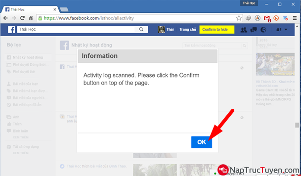 Tuyệt chiêu dọn sạch tường Facebook nhà bạn một cách nhanh chóng nhất + Hình 8