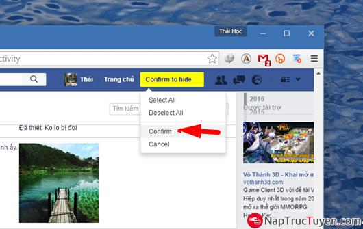 Tuyệt chiêu dọn sạch tường Facebook nhà bạn một cách nhanh chóng nhất + Hình 9