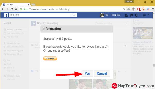 Tuyệt chiêu dọn sạch tường Facebook nhà bạn một cách nhanh chóng nhất + Hình 11
