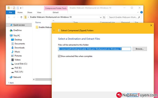 Sửa lỗi Webcam bị crash khi được nâng cấp lên Windows 10 Anniversary + Hình 8