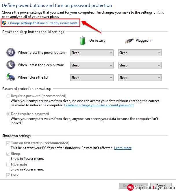 Cách sửa lỗi không tắt được laptop chạy Windows 10 + Hình 7