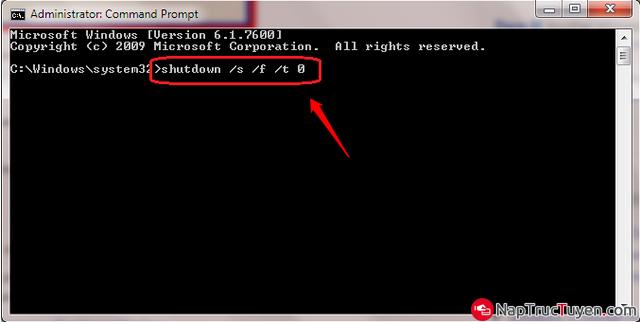 Cách sửa lỗi không tắt được laptop chạy Windows 10 + Hình 10