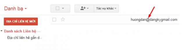 Hướng dẫn thêm Address Email mới vào danh sách liên hệ cho Gmail + Hình 5