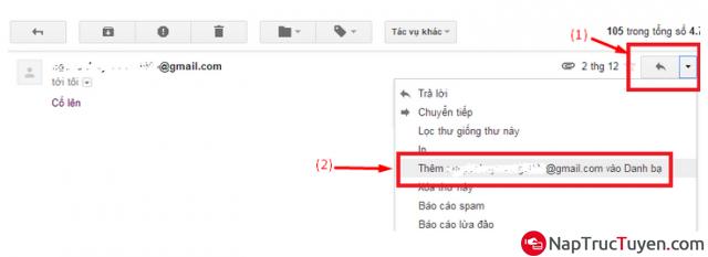 Hướng dẫn thêm Address Email mới vào danh sách liên hệ cho Gmail + Hình 6