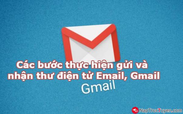 Các bước thực hiện gửi và nhận thư điện tử Email, Gmail + Hình 1