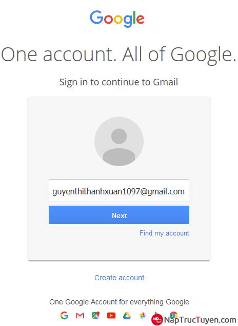 Các bước thực hiện gửi và nhận thư điện tử Email, Gmail + Hình 2