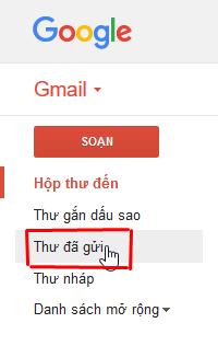 Các bước thực hiện gửi và nhận thư điện tử Email, Gmail + Hình 7